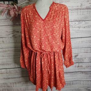 April Cornell boho tunic/mini dress size XL